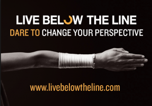 live below the line